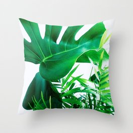 Tropical Display Throw Pillow
