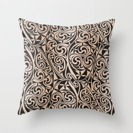 Celtic Warlord carbon Throw Pillow