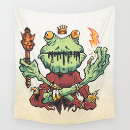 FROG KING Wall Tapestry