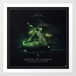 Since we are Assassins Ep Cover Art Print