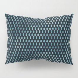 Rain Drop Pattern Pillow Sham