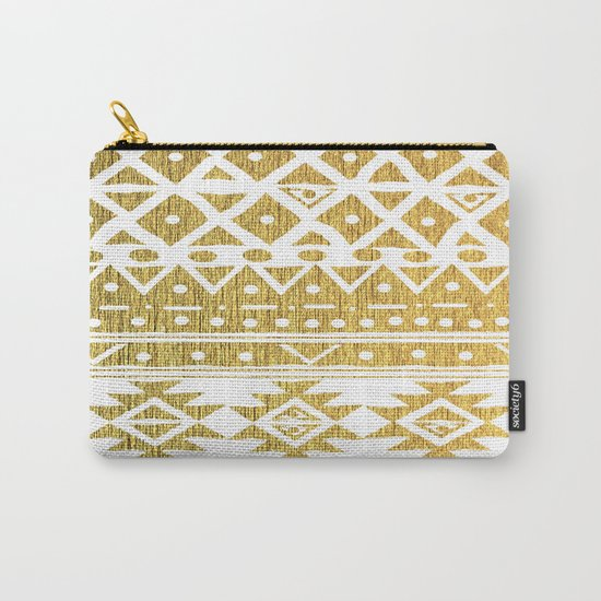 GOLDEN TRIBAL Carry-All Pouch