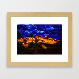 Mystical Fortress Kalemegdan  Framed Art Print