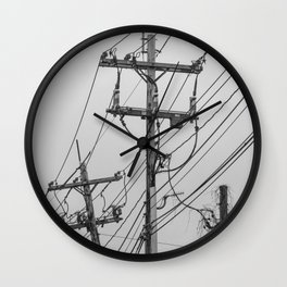 A Slow Takeover Wall Clock