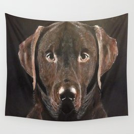 Classic Chocolate Labrador Wall Tapestry