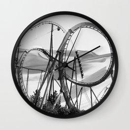 Arid Oasis Wall Clock