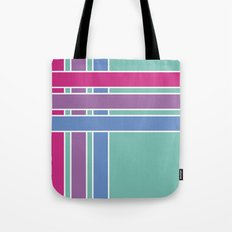 Step in Line Tote Bag