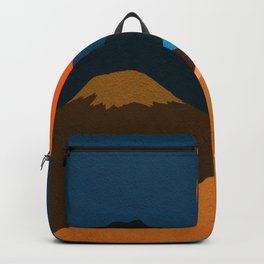 Abstraction_Mountains_Fantasy_Night Backpack