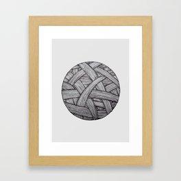 ball of string Framed Art Print