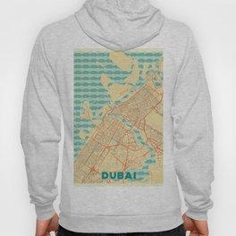 Dubai Map Retro Hoody