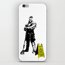 Every day heroes - Mop Champion iPhone Skin