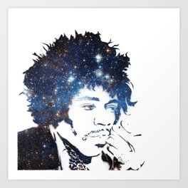 Hendrix Star Dust Art Print