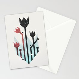 Space Tulips Stationery Cards