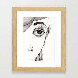 City-eye Framed Art Print