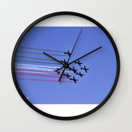 TRICOLOR AEREO... Wall Clock