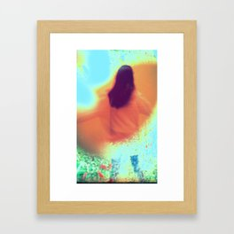 And You Lost Your Name Framed Art Print