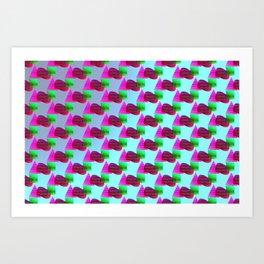 2606 Pattern cool ... Art Print