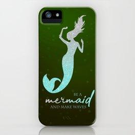 Mermaid #2 iPhone Case