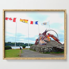Shediac Lobster Serving Tray