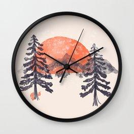 First Snow... Wall Clock