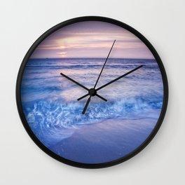 Shore Ruffles Wall Clock