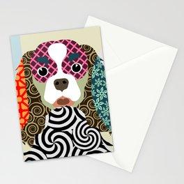 king charles cavalier spaniel Stationery Cards