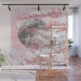 Spring Moon Wall Mural