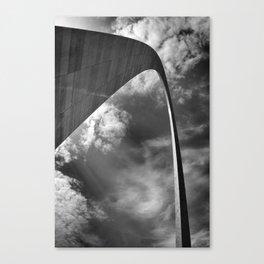 Gateway arch in St-Louis Canvas Print