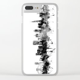San Francisco City Skyline Clear iPhone Case