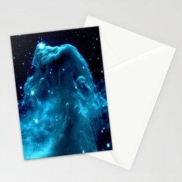 Turquoise Horsehead NeBula Stationery Cards