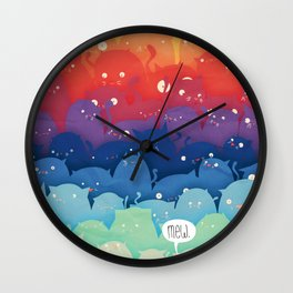 Cats Galore!  Wall Clock