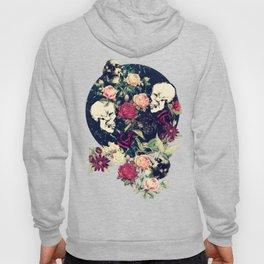 Vintage Floral With Skulls Hoody
