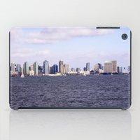 san diego iPad Cases featuring Good Morning San Diego  by Ashley Marcy