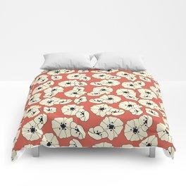 Retro bloom 004 Comforters