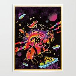 Interdimensional Nishikigoi Poster