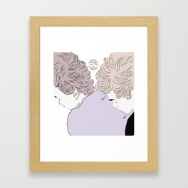Sleepy evak Framed Art Print