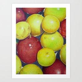 Hawaiian Passion Fruit Art Print