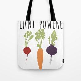 Plant Powered - Vegan Tote Bag