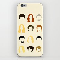 quotes iPhone & iPod Skins featuring Boogie Quotes by Derek Eads