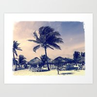 Day in the Tropics Art Print