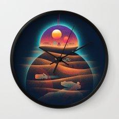 Droid-land Wall Clock