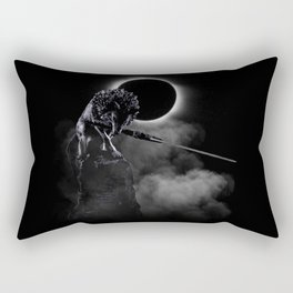 Loyal Wolf Rectangular Pillow
