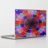 carnival Laptop & iPad Skins featuring Carnival  by Laura Santeler