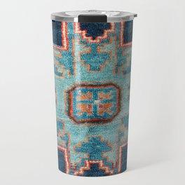Karabakh  Antique South Caucasus Azerbaijan Rug Travel Mug