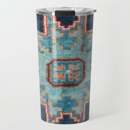 Karabakh  Antique South Caucasus Azerbaijan Rug Print Travel Mug