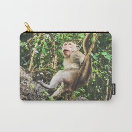 Cute Jungle Monkey Carry-All Pouch