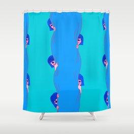 Feeling Shy Shower Curtain