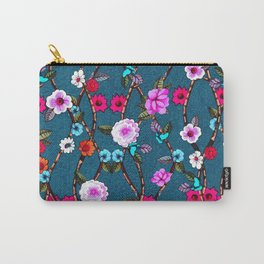 Spring Flowers Decò Carry-All Pouch