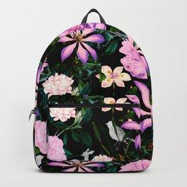 Flowering in the night meadow Backpack