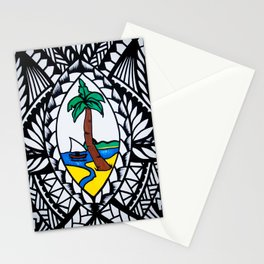 Guam Seal Poly Style Stationery Cards